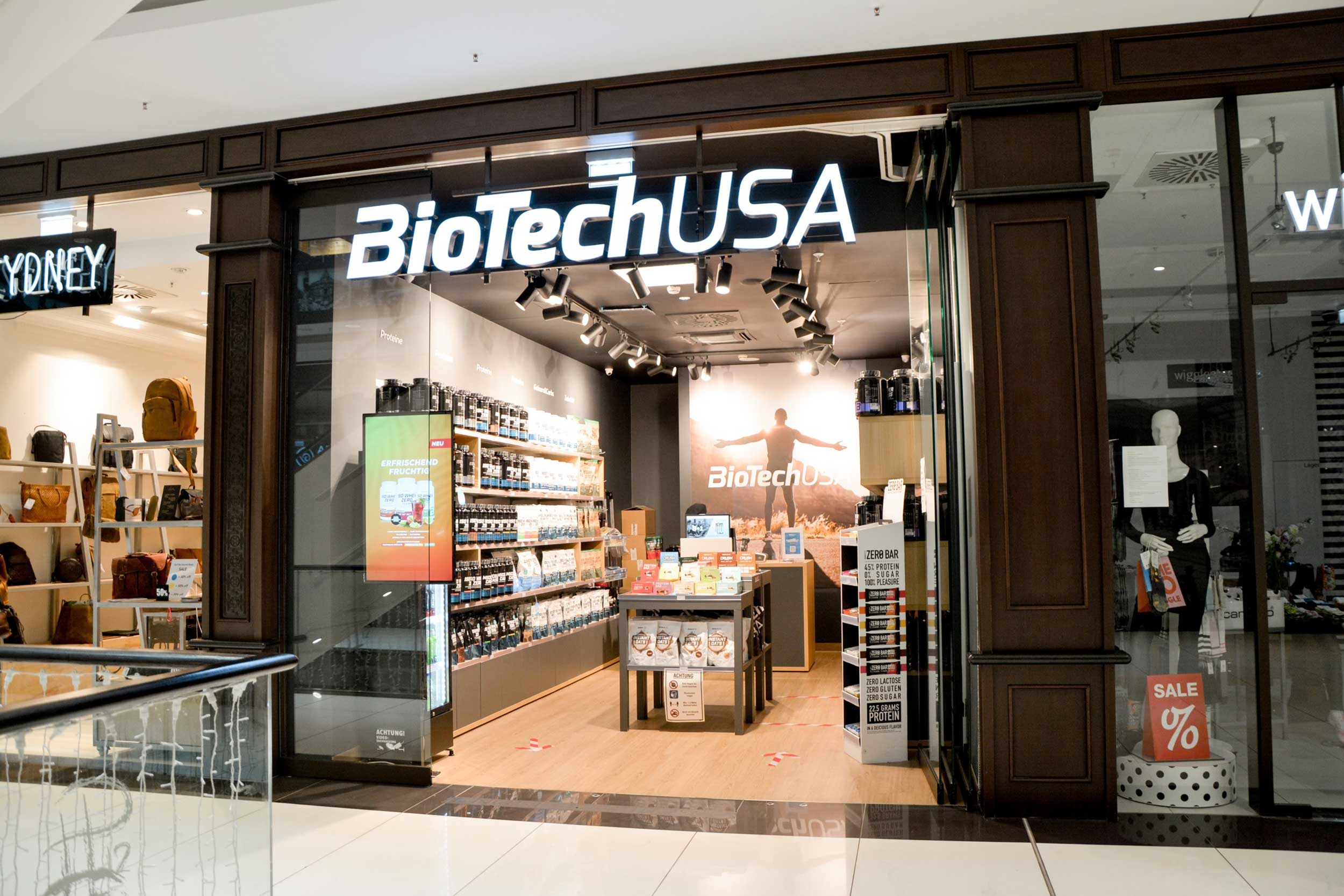 BioTechUSA in der Mall of Berlin