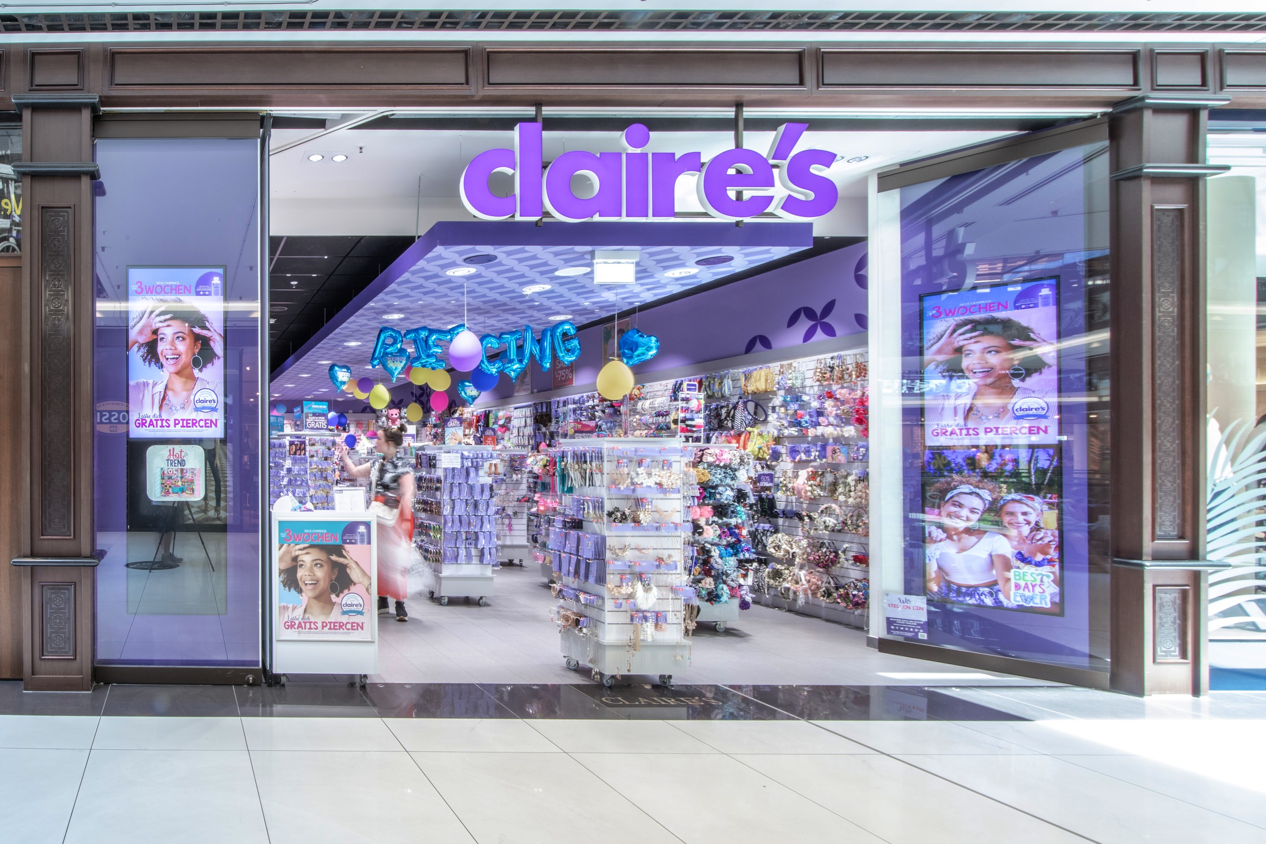 Claire´s in der Mall of Berlin