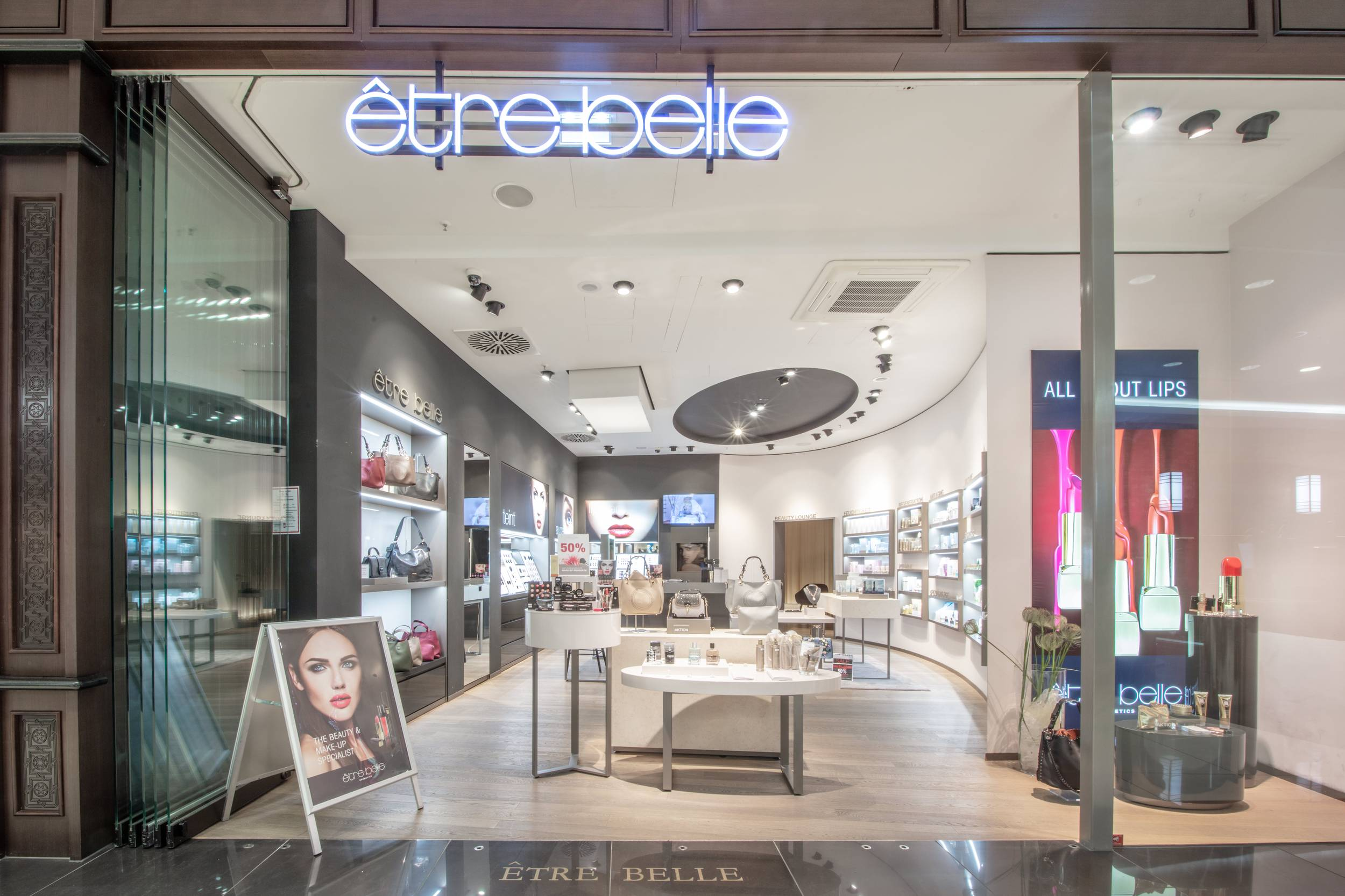 être belle Cosmetics in der Mall of Berlin