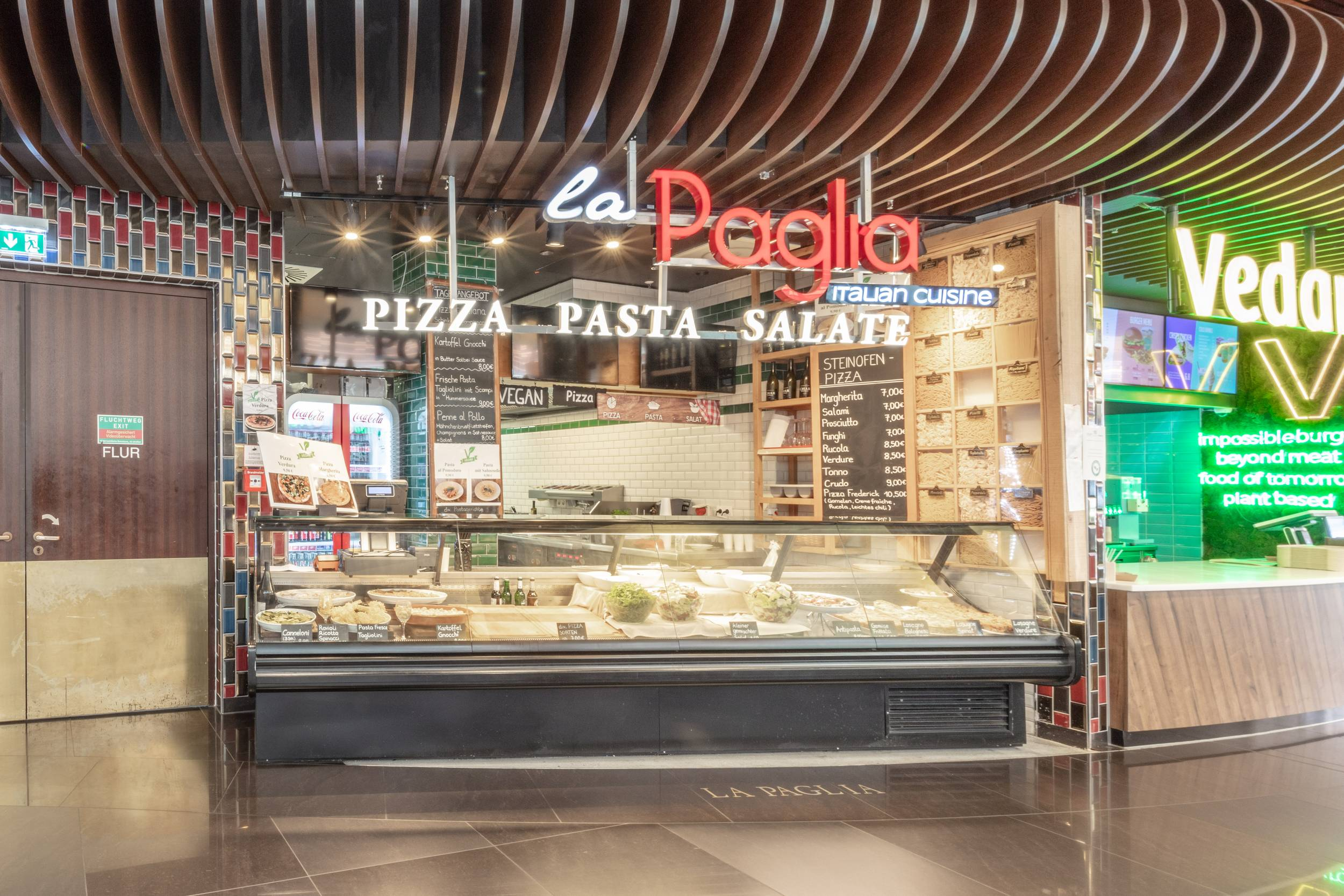 La Paglia at the Mall of Berlin