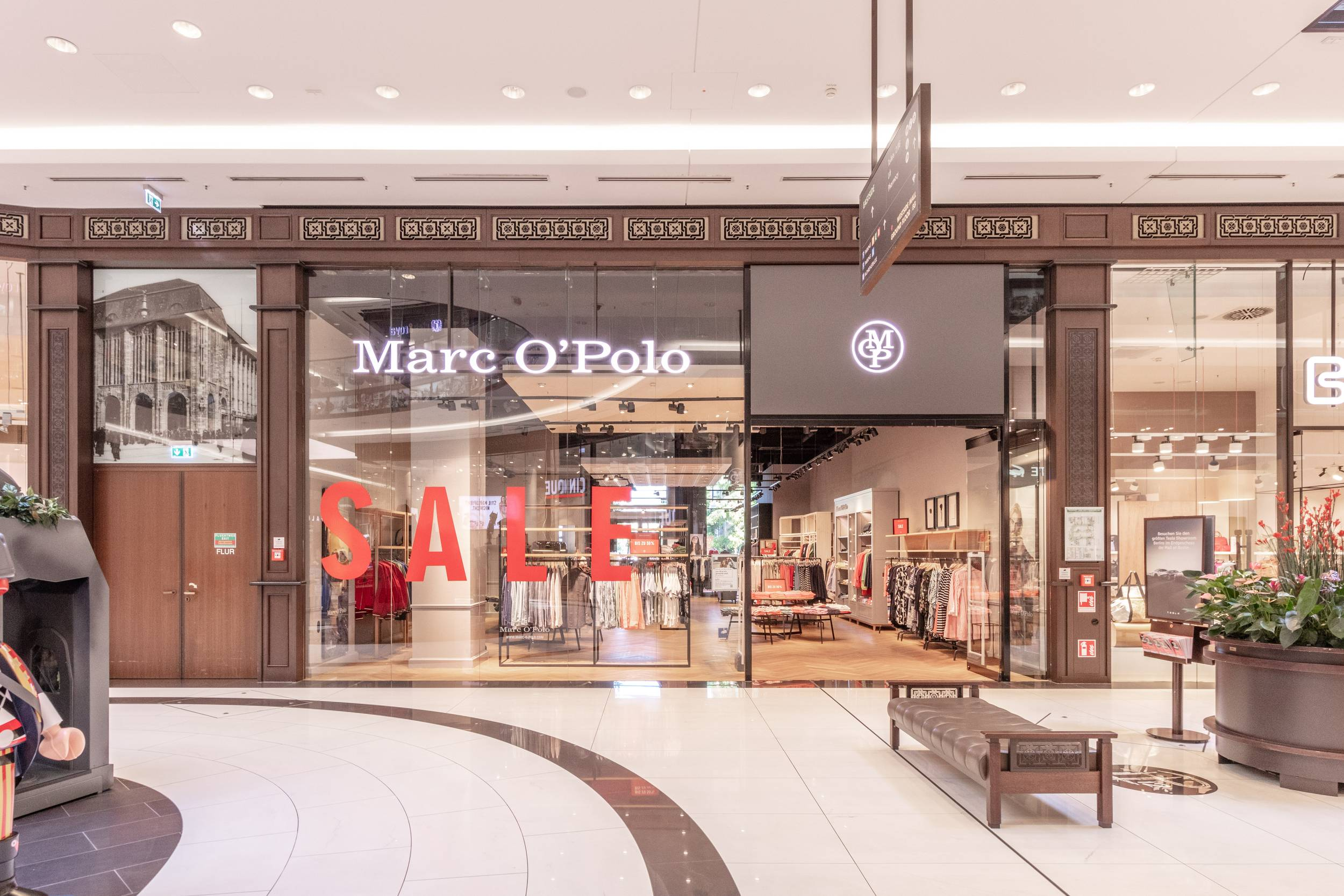 Marc O'Polo in der Mall of Berlin