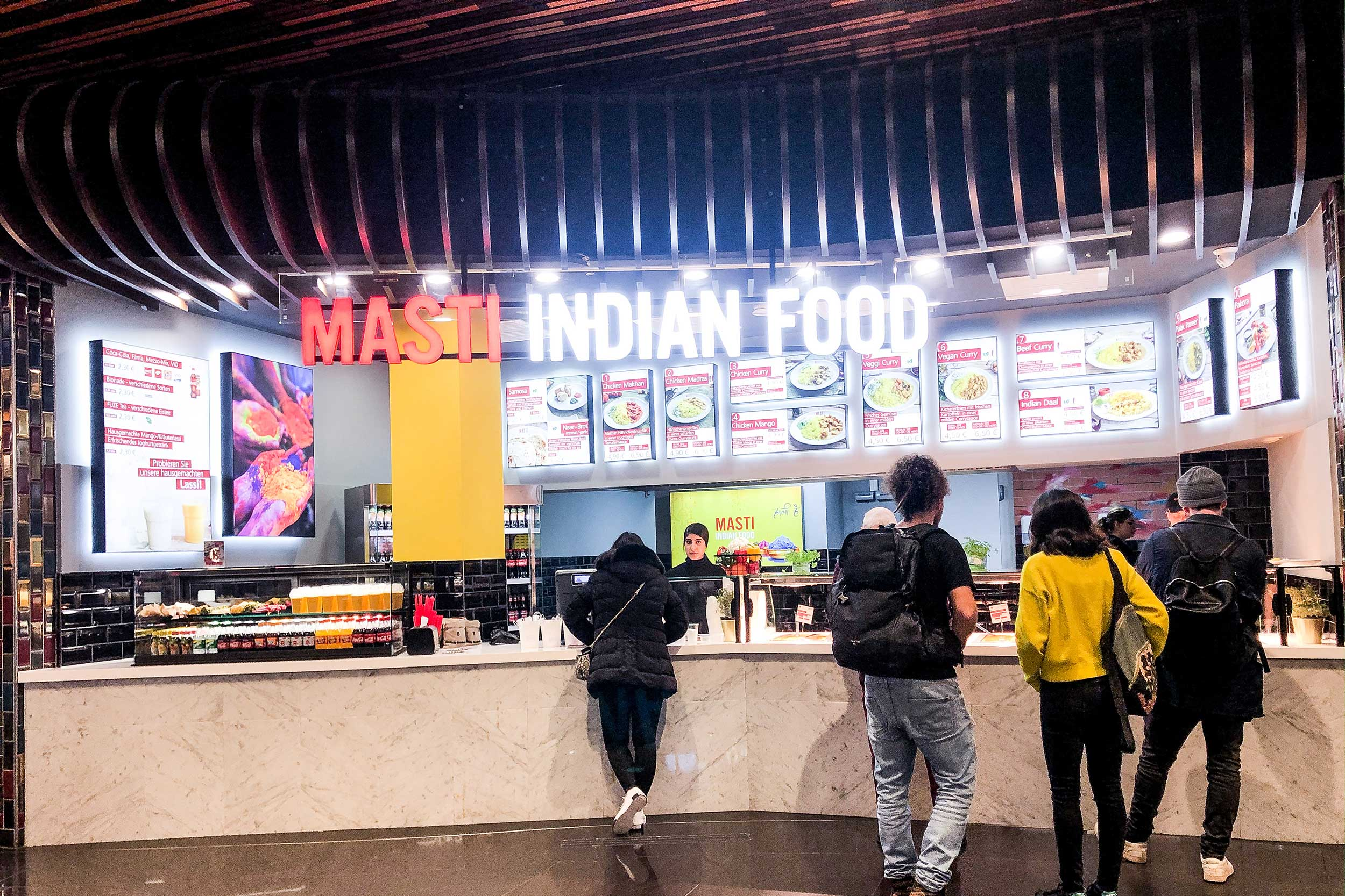Masti Indian Food at the Mall of Berlin