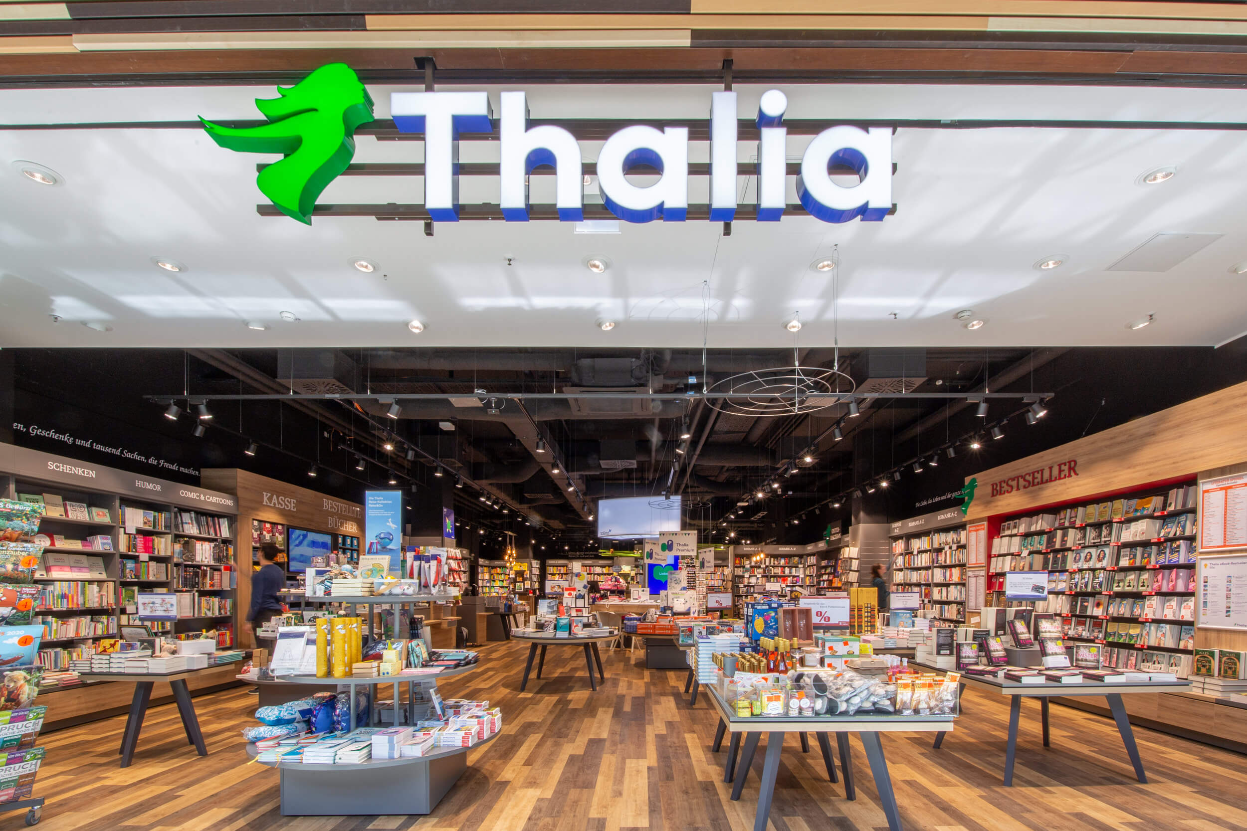 Thalia in der Mall of Berlin