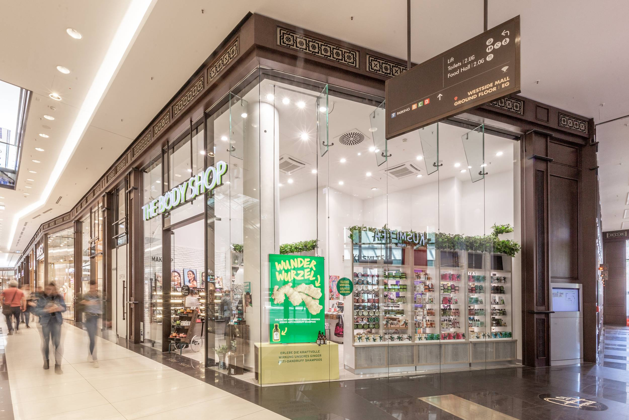 The Body Shop in der Mall of Berlin