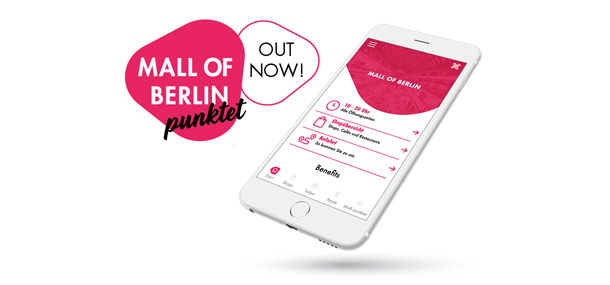 The new App from the Mall of Berlin.