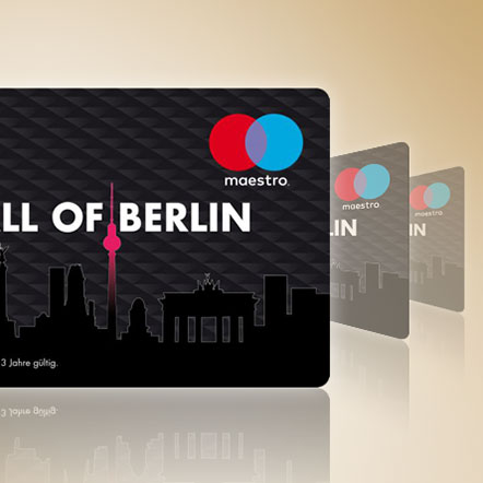 Mall of Berlin gift card